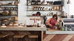 Clovelly Cafe - Counter Prep