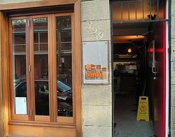 Bunker Cafe - Entry