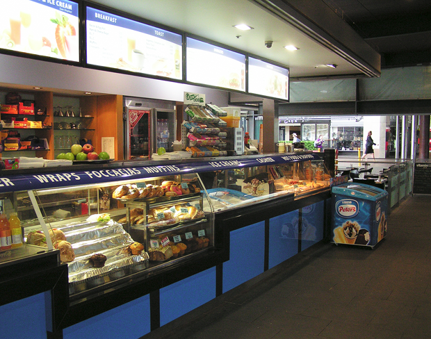 Circular Quay Cafe - Display
