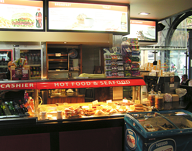 Cafe Express - Hotfood