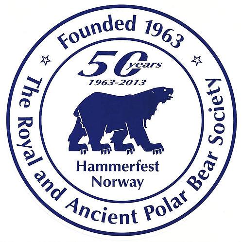 Sticker 50 years