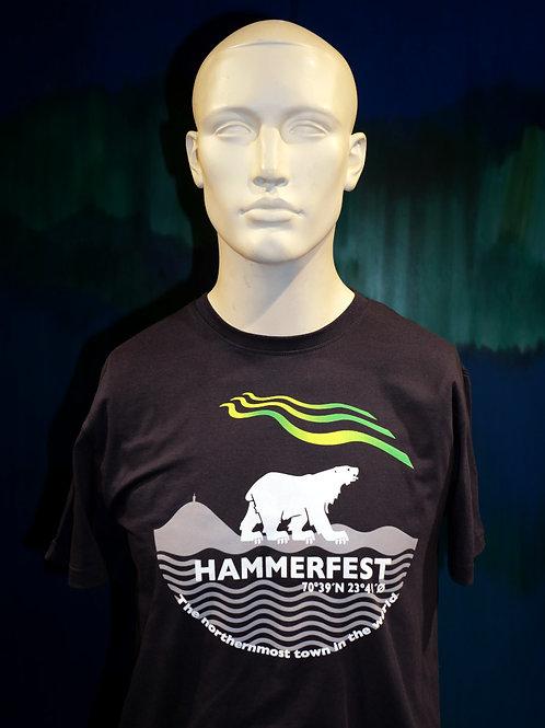 T-Shirt Nordlys Hammerfest