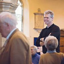Stuart Dunlop, musical director of Eynsham Choral Society