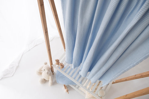 Cot Bed Blanket - Hydrangea