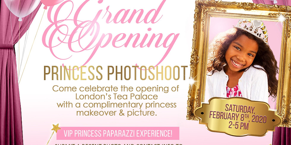 Grand Opening Princess Photoshoot