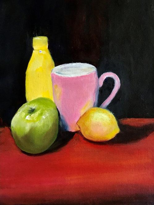 Pink Mug - Artist: Pippa Augl