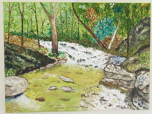 Barrington Walk - Artist: Greg Mudie