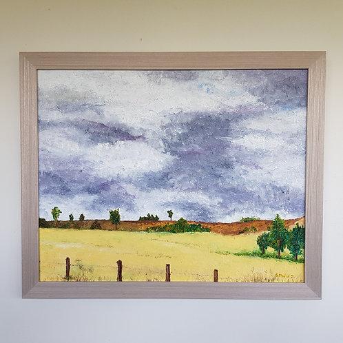 Storm Brewing Over Munni - Artist: Greg Mudie
