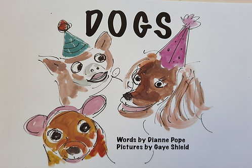 Dogs - Artist: Dianne Pope