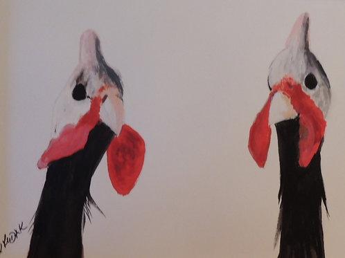 Fowls Galore - Artist: Marilyn Rudak