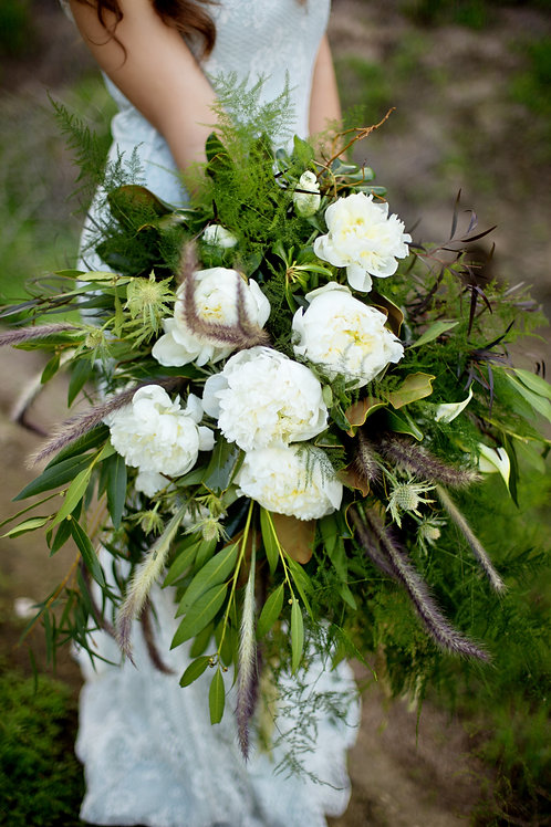 Just the Greens: Bridal Bouquet