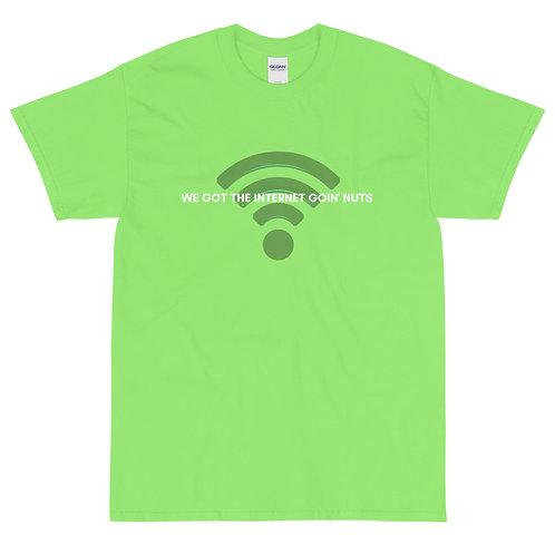 """INTERNET GOIN' NUTS"" - MTB Communications - Season 1 Premium T-Shirt!"
