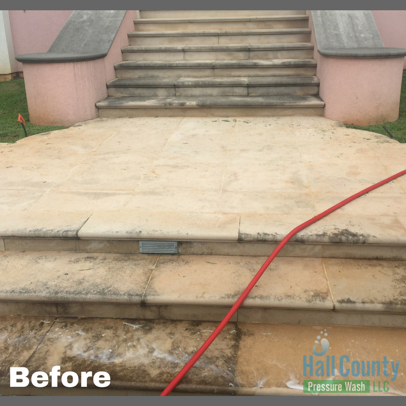 Concrete Cleaning Gainesville, Ga
