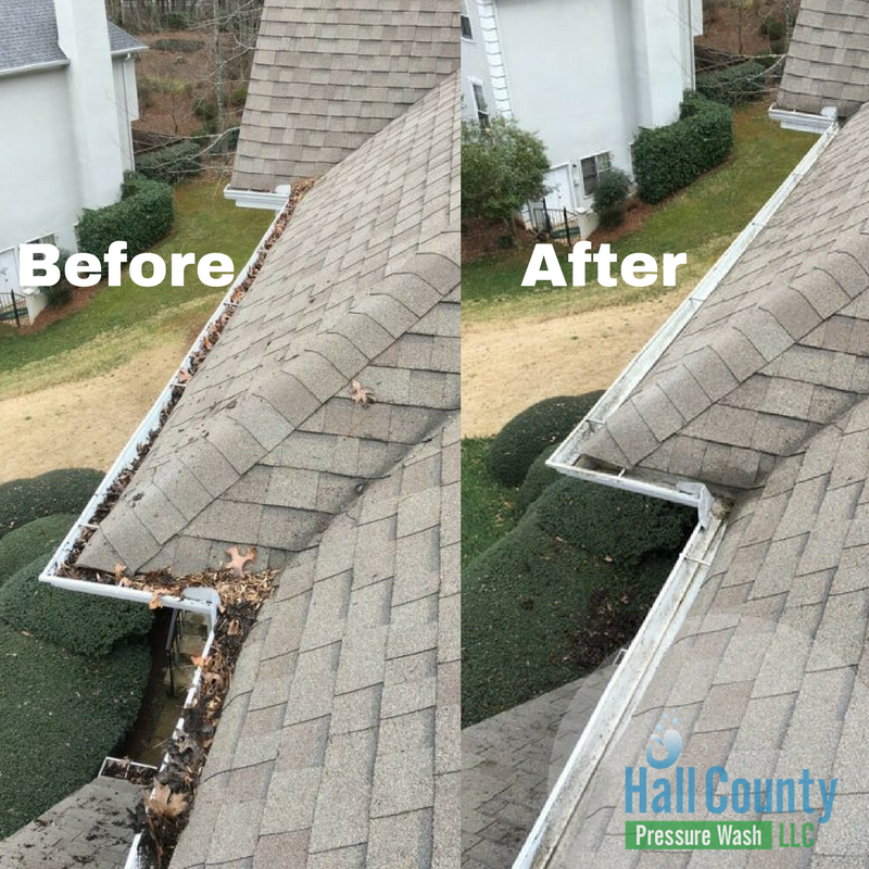 Gutter Cleaning Gainesville, Ga