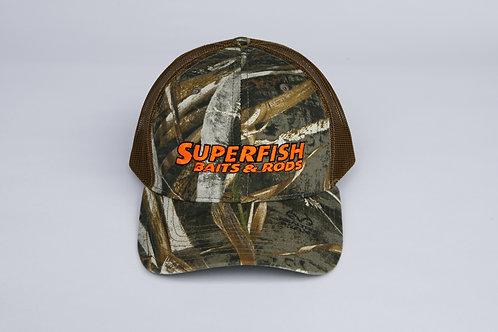 SuperFish Camo Hat