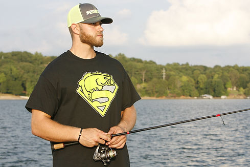 SuperFish bass fishing apperal