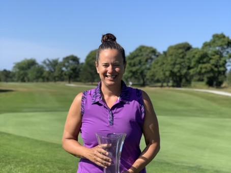 Kim McCarron Wins First Ladies Club Championship