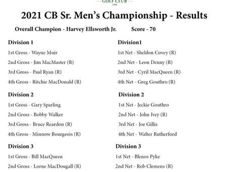 Harvey Ellsworth Jr. Wins Cape Breton Senior Men's Championship