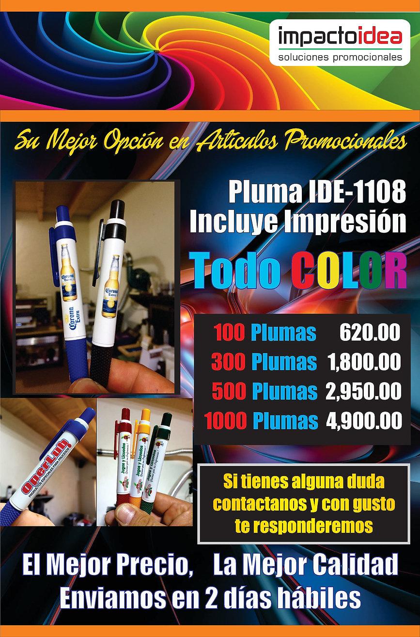 Pluma bolígrafo impreso a todo color  Articulos promocinales | usb | termos | libretas | cilindoes | llaveros | termos | peotas antiestres | fotobotones