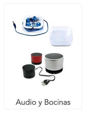 Audio y Bocinas Celulares y Tablets Promocionales Impctoidea
