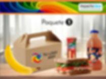 Paquete 1 Box Lunch Impactoidea