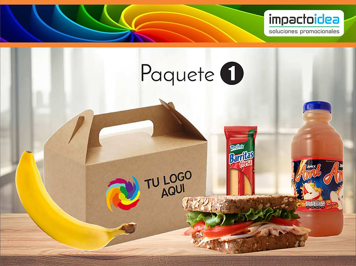 Paquete 1 Box Lunch Impactoidea