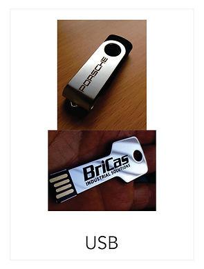 Memorias USB Promocionales Impctoidea