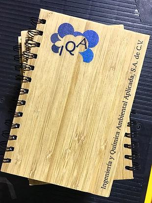 Libreta de Bambú promocional al mejor precio