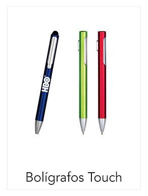 Bolígrafos Touch Promocionales Impctoidea