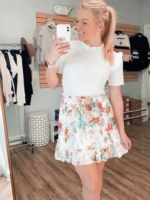 Forever Floral Skirt