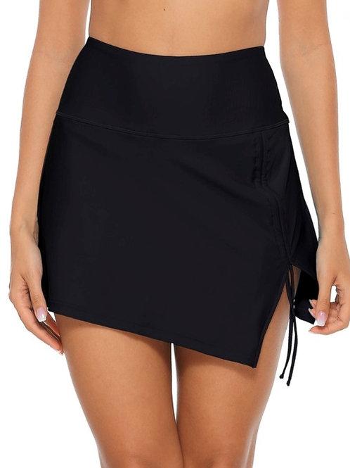 Slit Swim Cover Skirt