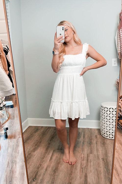 Jenn Raw Edge Dress