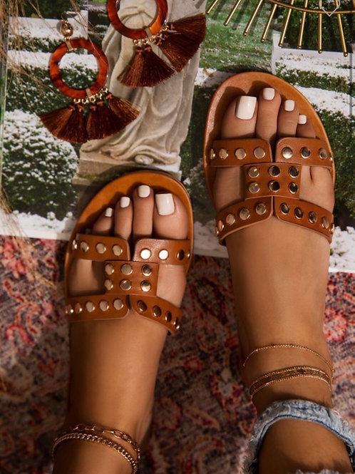 Golden Sun Sandals