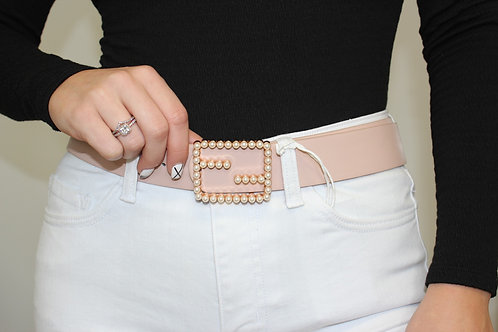 Square Pearl Belt