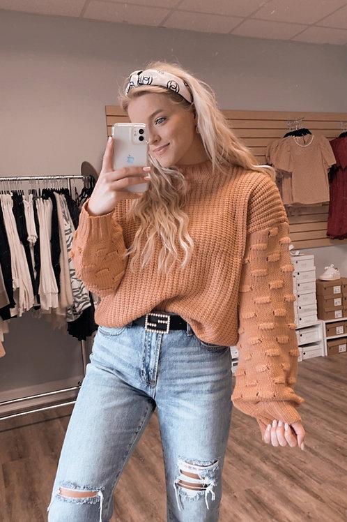 Pop Sleeve Sweater