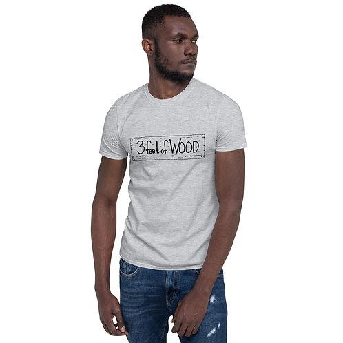 3 feet of Wood Short-Sleeve Unisex T-Shirt
