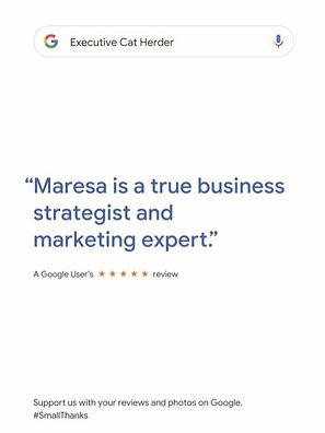 Maresa Friedman Review on Google