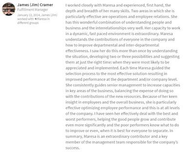 James Cramer - Project Manager