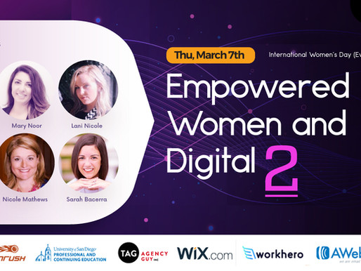 2nd Annual International Women's Day Event Panel Announced!