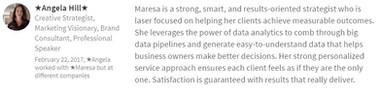 Angela Hill - CEO & Marketing Executive