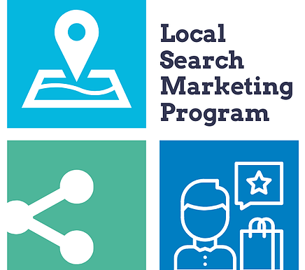 When you need to dominate local, not global.  The Local Search Marketing Program is live!