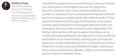 Matthew Muga - Technology Executive