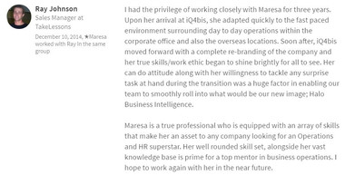 Ray Johnson - Business Development