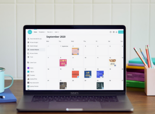 Canva Quietly added a new time saving feature just in time for back to school - Content Planning