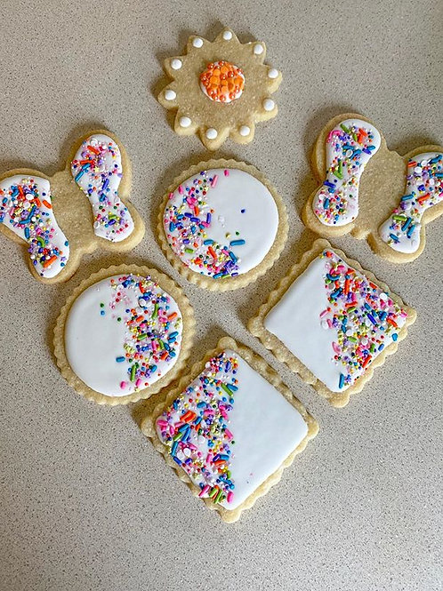 Decorated Sugar Cookies by the Dozen