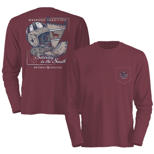 Saturdays in the South Long Sleeve