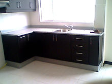 Muebles de Hogar, Muebles de Cocina, Meson de granito,
