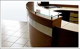 Counters, stand, muebles de recepcion,