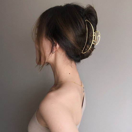 SLIM GOLD CLAW CLIP