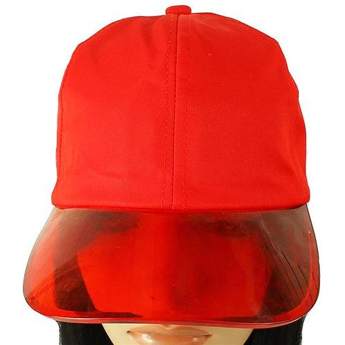 Fashion Clear Brim Hat